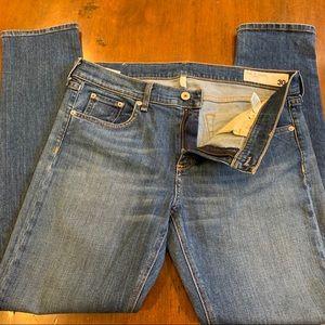 Rag & Bone Dre straight slim boyfriend jeans